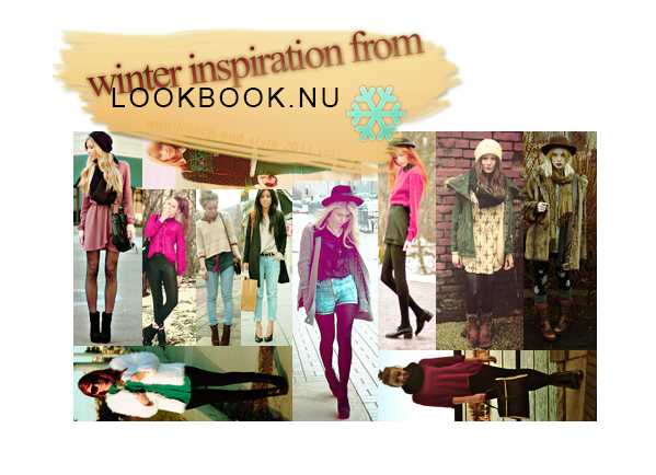 inspiration from lookbook winterpage fan facebook ▲ twitter ▲ formspring