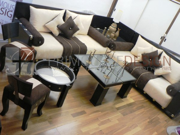 Salon oriental marocain moderne