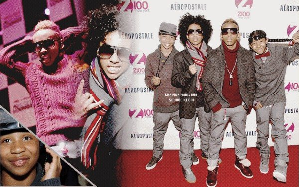 .  Ta source officiel concernant les Mindless Behavior. .
