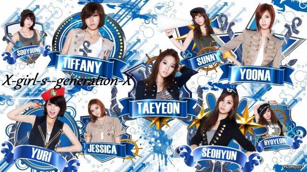 présentation des membres de Girl's Generation
