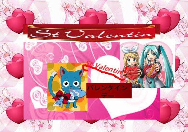 Bonne Saint-valentin (+cours de japonais)