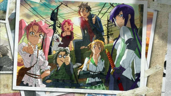 【High School Of The Dead】