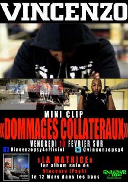 """MINI CLIP DE """"DOMMAGES COLLATÉRAUX"""" NOUVEL EXTRAIT DE MON ALBUM """"LA MATRICE""""  .ıllılı. Facebook Fan Officiel .ıllılı. Twitter Officiel .ıllılı."""