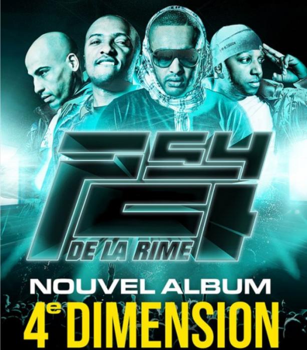 NOUVEL ALBUM PSY 4 DE LA RIME - 4ème DIMENSION DANS LES BACS !