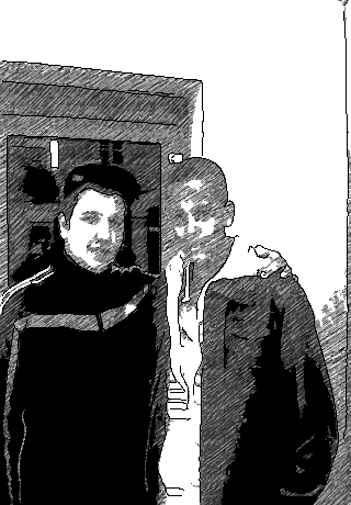 Moi et thibault : )