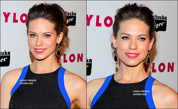 14/05/13 : Notre jolie Lyndsy était au « Nylon Magazine's Young Hollywood Issue Party » à Los Angeles.