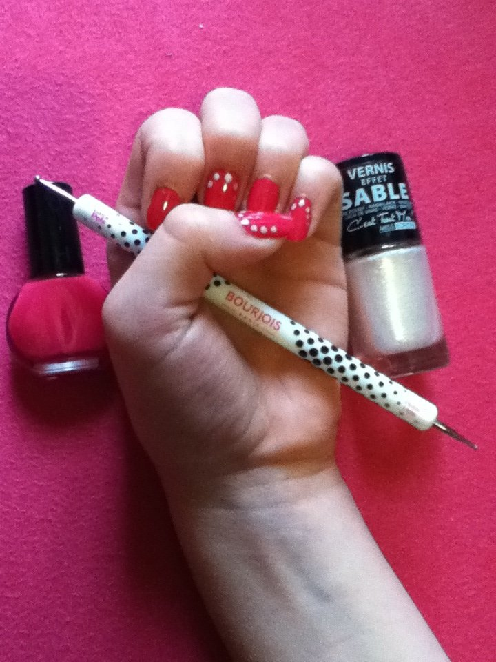 Nail art point sable