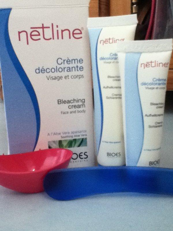 La crème décolorante: netline#2