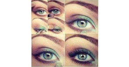 Maquillage bicolore