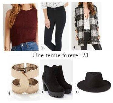 Une tenue Forever 21
