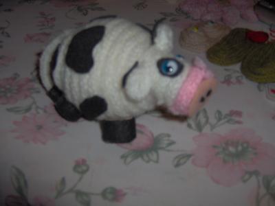 tricotin vache