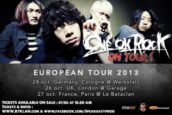 ONE OK ROCK EN CONCERT.....^^