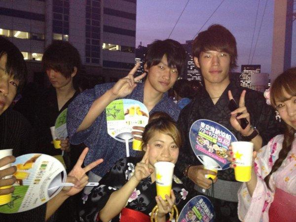 08月09日 船パーティー!