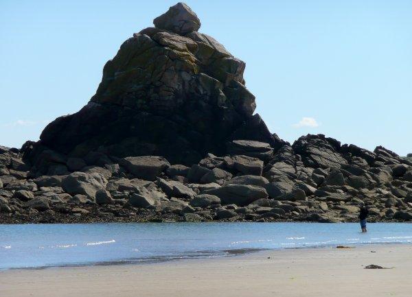 Pêche du bord en Finistère nord