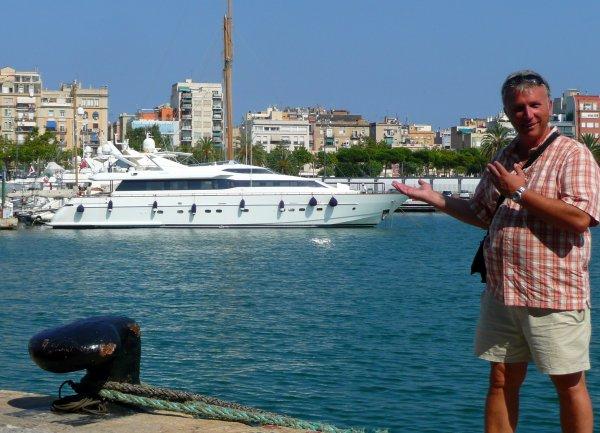 Mon prochain bateau à Barcelone