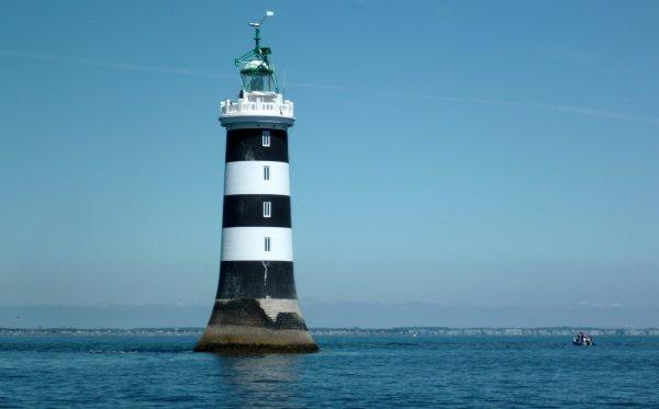 Histoire du phare du plateau de la Banche