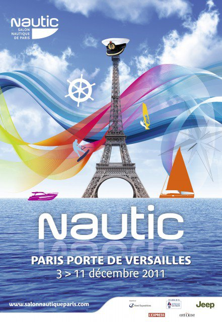 Salon nautique international de paris 3 au 11 d c 2011 for Porte de versailles salon nautique