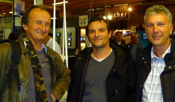 Visite du Nautic de Paris 8/12/2011 - Rencontres
