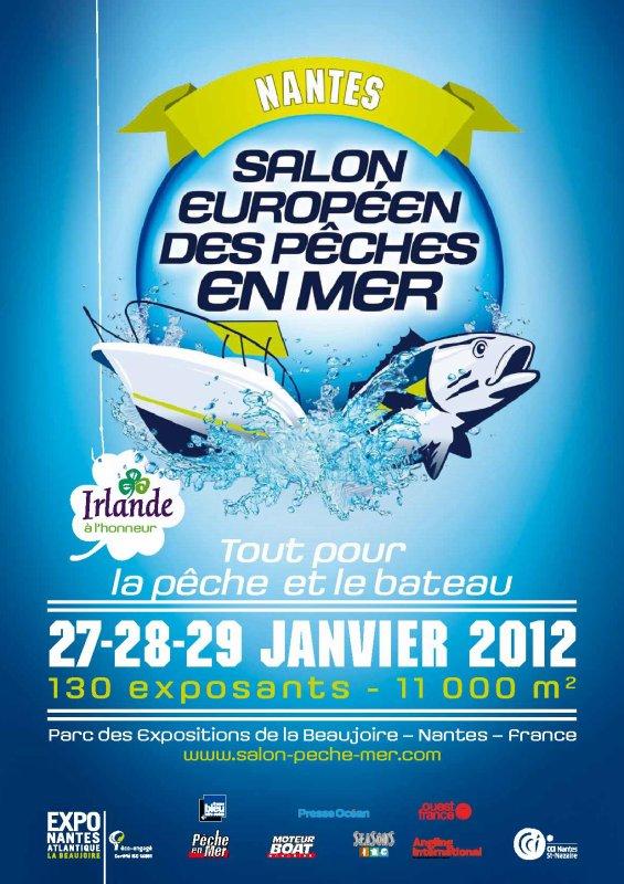 Salon européen des pêches en mer - Nantes fin janvier 2012