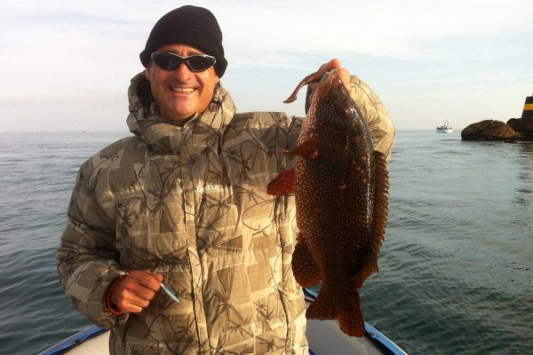 Pêche en mer avec Yann - 16 septembre 2012