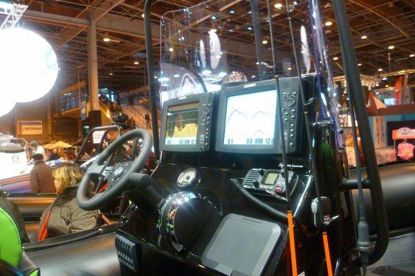 Nautic Paris 2012 - semi rigides PRO
