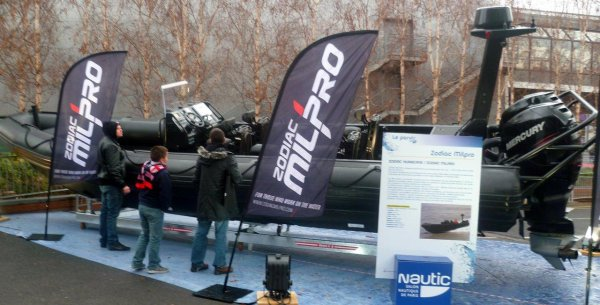 Nautic Paris 2012 - semi rigides PRO