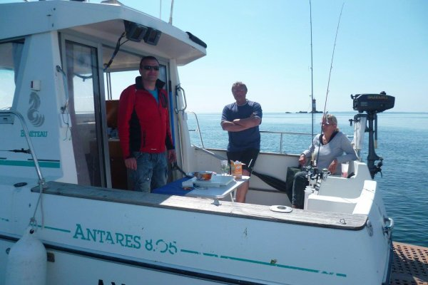Sortie en mer du 4 mai : l'été enfin !