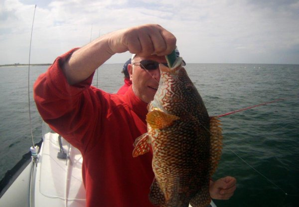 Pêche en mer dimanche 2 juin 2013