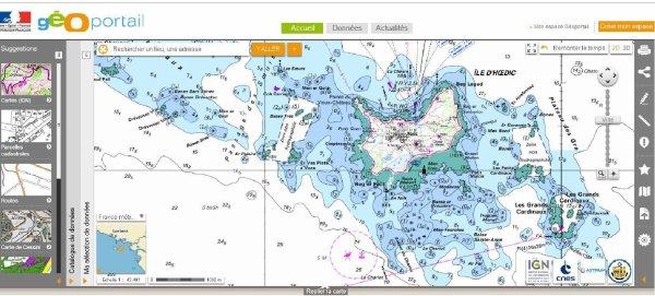 Toutes les cartes marines (et autres) accessibles gratuitement sur internet