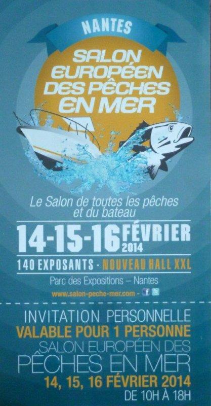 Salon de la pêche en mer - Nantes