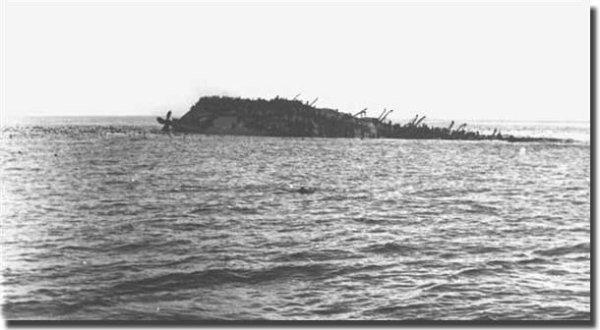Lancastria, une des plus grandes catastrophes maritimes de l'histoire se situe à St Nazaire