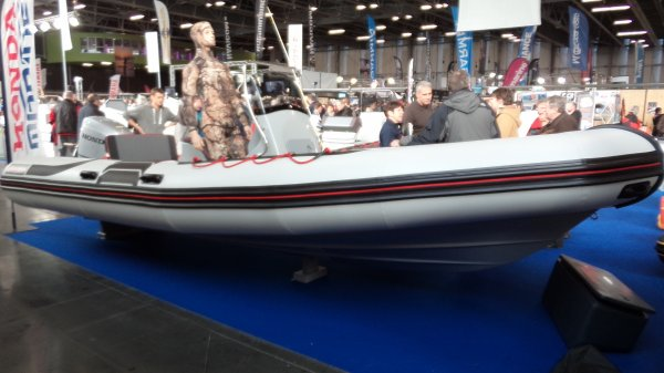 Salon de la pêche Nantes - Bateaux semi-rigides