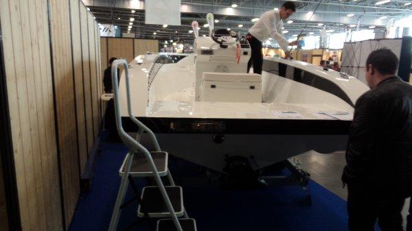 Salon de la pêche Nantes - Bateaux coques rigides & kayaks