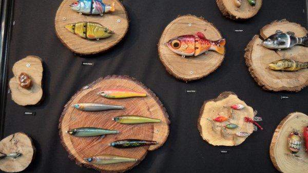 Salon de la pêche Nantes - Leurres