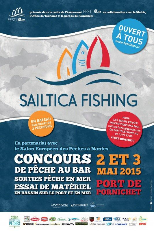 SAILTICA Fishing du 2 au 3 mai 2015 à Pornichet (44)