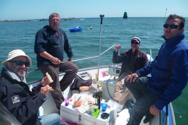 Sortie à 2 bateaux 10/5/2015