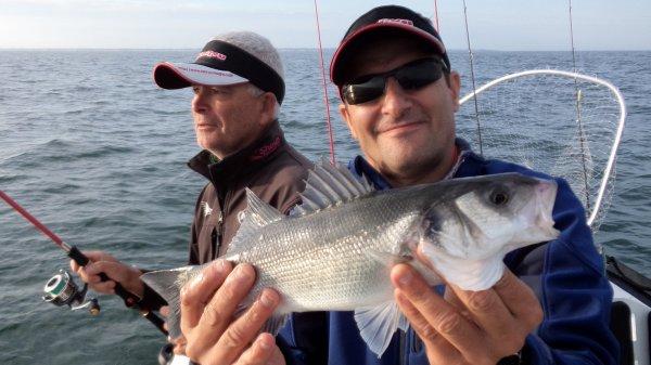 Pêche aux bars 18/7/2015