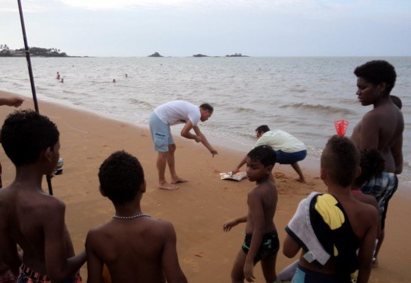 Pêche du bord en Guyane