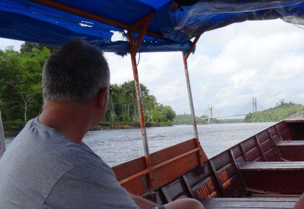 Navigation en Guyane - bateaux