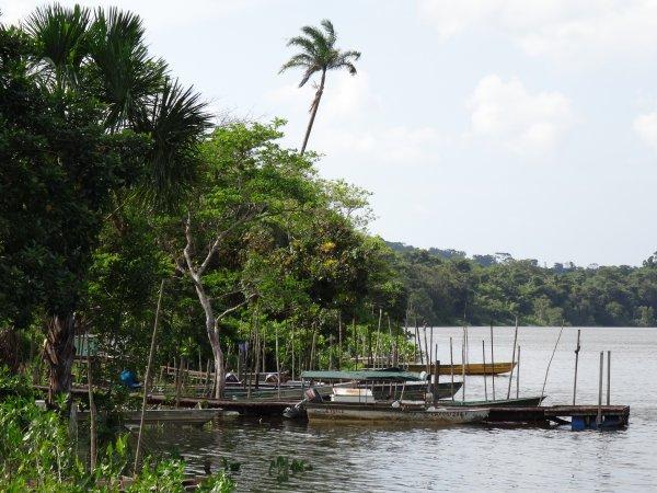 Navigation en Guyane - Petits ports fluviaux