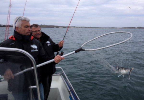Session pêche à 2 bateaux samedi 7/5/2016