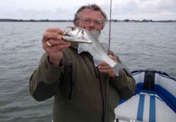 Pêche aux bars à 2 bateaux 21/5/2016