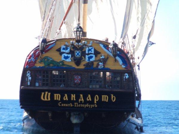 vieux gréement russe croisé en mer
