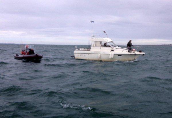 Sortie à 4 bateaux