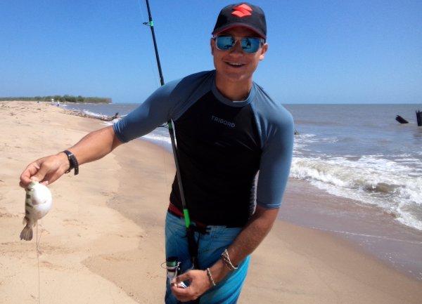 Pêche du bord de mer en Guyane