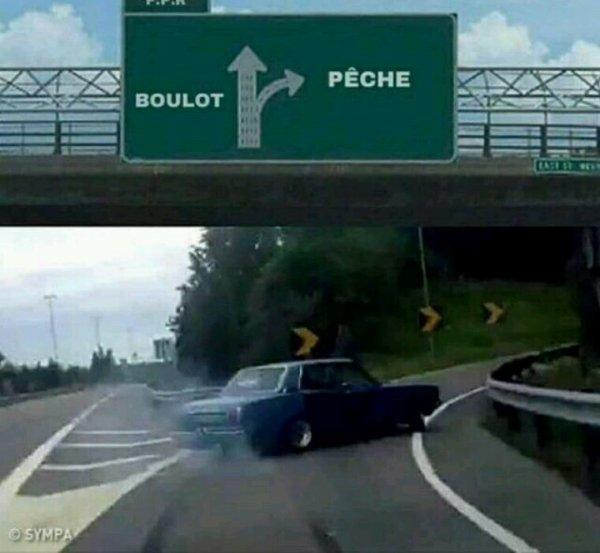 Boulot / Pêche
