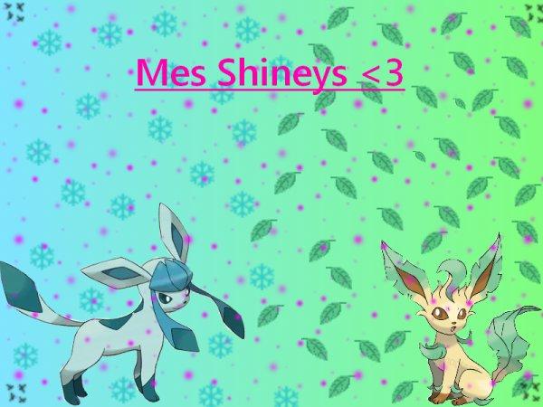 Mes shineys