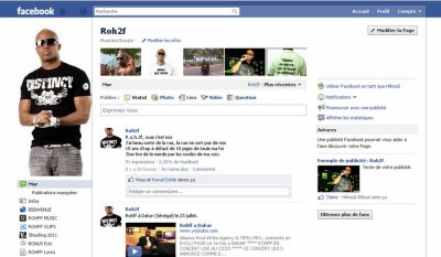 Page officielle Facebook de ROHFF