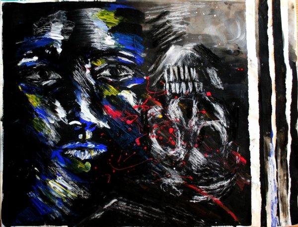 La peinture qui mord