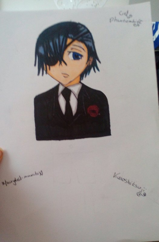 My Drawing ~Ciel Phantomhive